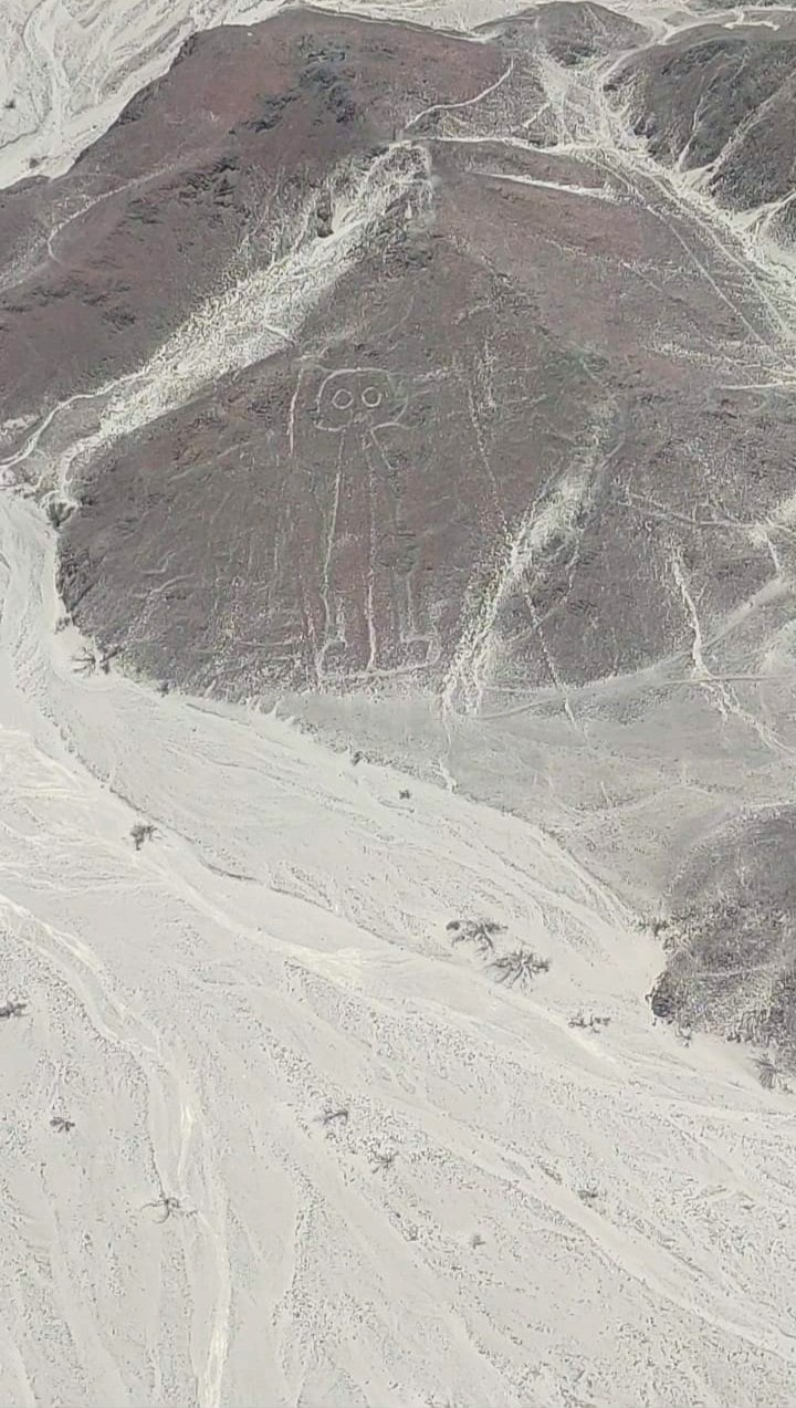 nazca lines flight from pisco airport